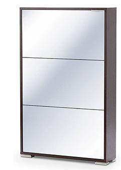 Обувница Viva-3 (стекло/зеркало) выгодно от VittaMebel.ru