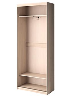 Двухдверный шкаф-купе 1 Премиум выгодно от VittaMebel.ru