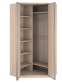 Угловой шкаф-купе 2 двери Премиум выгодно от VittaMebel.ru