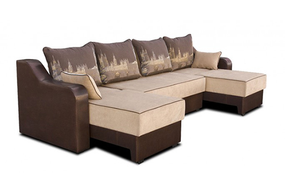 Модульный диван «Гарди-3» выгодно от VittaMebel.ru