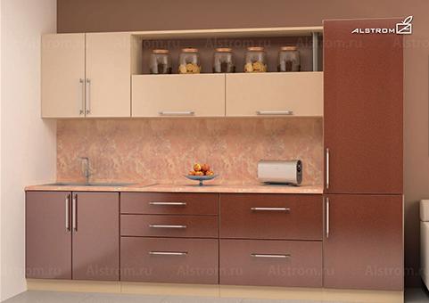 Кухня (Алстром) Шампань и Корица выгодно от VittaMebel.ru
