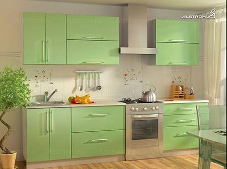 Кухня (Алстром) Салатовый выгодно от VittaMebel.ru