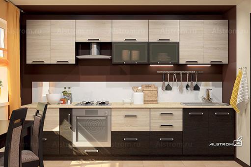 Кухня (Алстром) Футура-Саноме выгодно от VittaMebel.ru