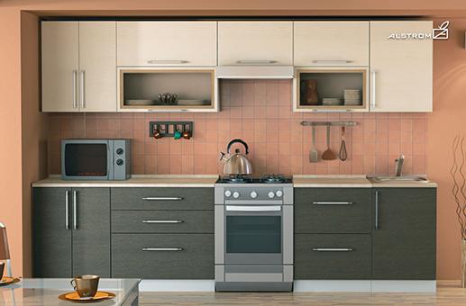 Кухня (Алстром) Футура выгодно от VittaMebel.ru