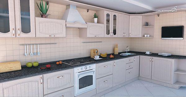 Кухня (Алстром) Кантри выгодно от VittaMebel.ru
