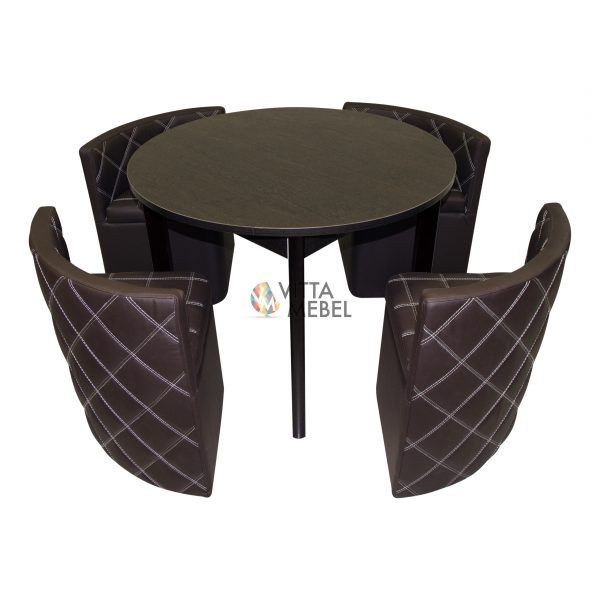Стол с банкетками Орион выгодно от VittaMebel.ru