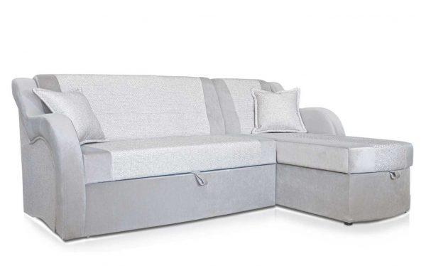 Угловой диван Моника грей выгодно от VittaMebel.ru