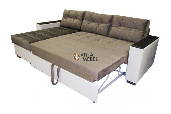 Угловой диван Зара выгодно от VittaMebel.ru