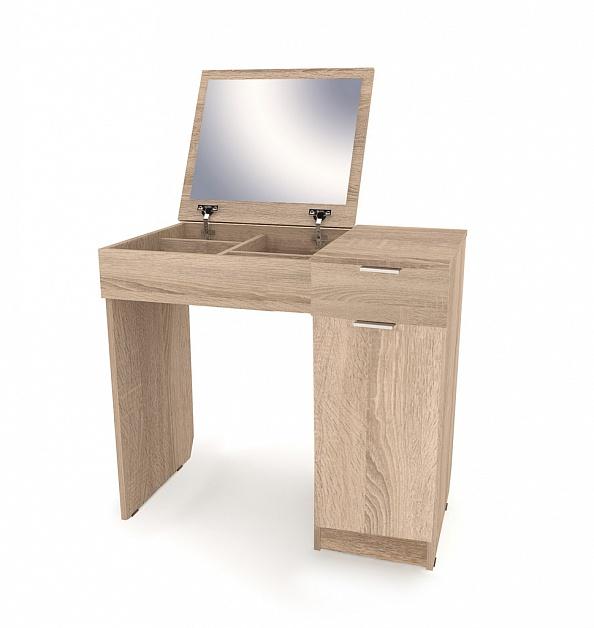 Туалетный столик Римини-3 дуб сонома выгодно от VittaMebel.ru