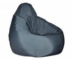 Кресло-мешок Стандарт L серый - VittaMebel.ru