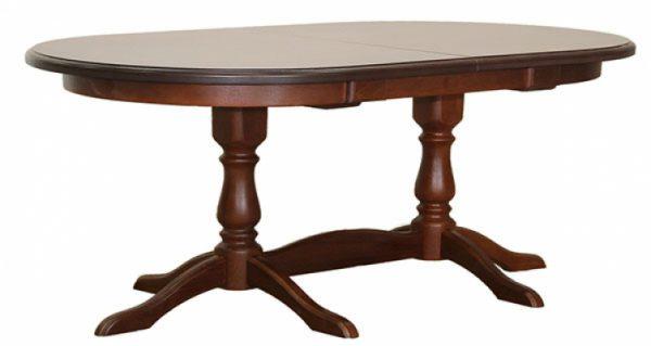 Стол раздвижной овальный 800*1450/1850 мм. выгодно от VittaMebel.ru