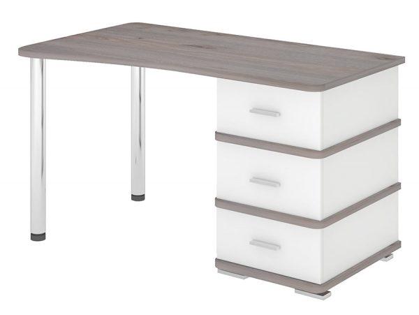 Компьютерный стол СД-35 Нельсон/белый жемчуг выгодно от VittaMebel.ru