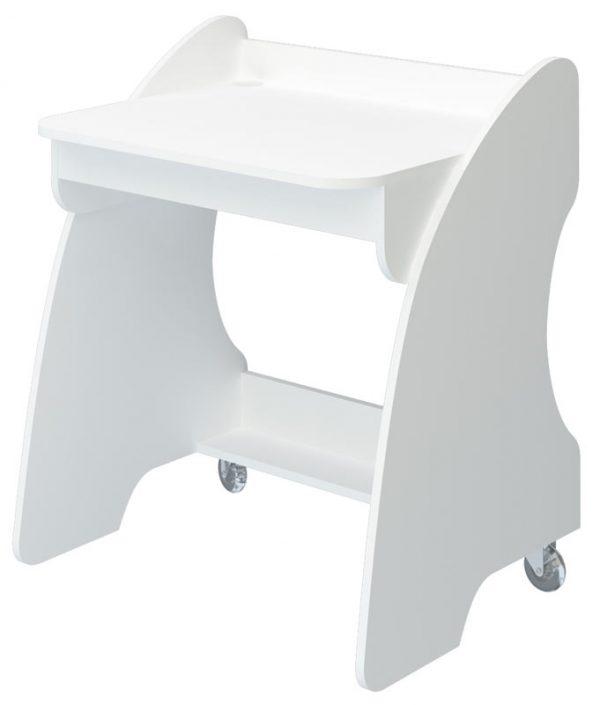 Компьютерный стол СК-13 Белый жемчуг выгодно от VittaMebel.ru