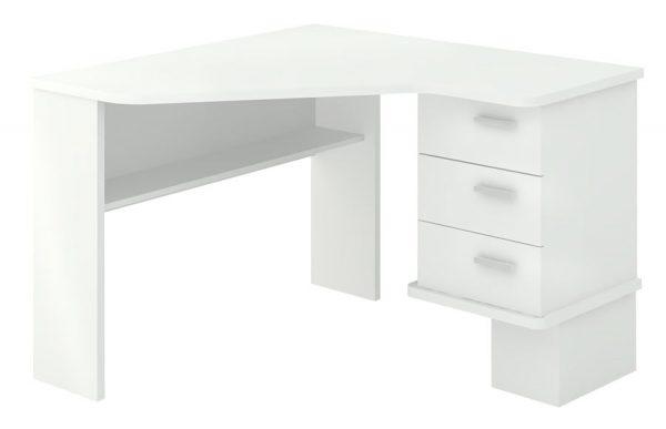 Компьютерный стол СД-45С Белый жемчуг выгодно от VittaMebel.ru
