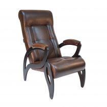 Кресло для отдыха МИ Модель 51 венге, Венге, к/з Antik crocodile - VittaMebel.ru
