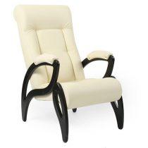 Кресло для отдыха МИ Модель 51 венге, Венге, к/з Dundi 112 - VittaMebel.ru
