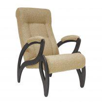 Кресло для отдыха МИ Модель 51 венге, Венге, ткань Malta 03 A - VittaMebel.ru