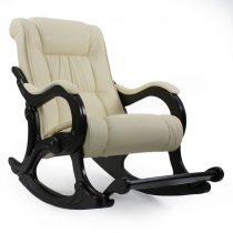 Кресло-качалка МИ Модель 77 венге, Венге, к/з Dundi 112 - VittaMebel.ru