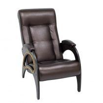 Кресло для отдыха МИ Модель 41 венге, Венге, к/з Oregon perlamutr 120 - VittaMebel.ru