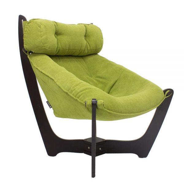 Кресло для отдыха МИ Модель 11 венге, Венге, ткань Verona Apple Green выгодно от VittaMebel.ru
