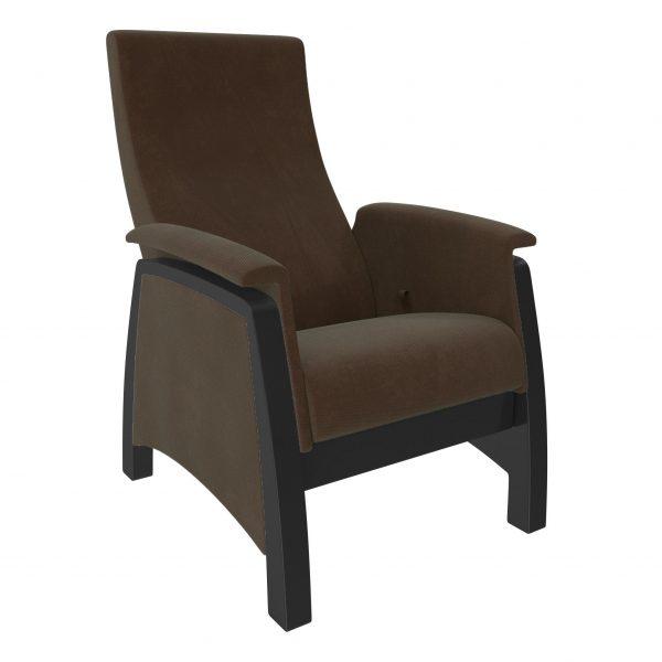 Кресло-глайдер МИ Модель 101ст, Венге, ткань Verona Brown выгодно от VittaMebel.ru