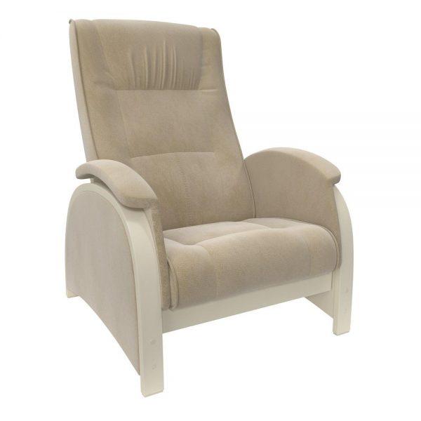 Кресло-глайдер МИ Модель Balance 2 , Дуб шампань/шпон, ткань Verona Vanilla выгодно от VittaMebel.ru