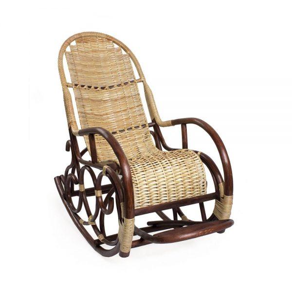 Кресло-качалка Ведуга, орех выгодно от VittaMebel.ru
