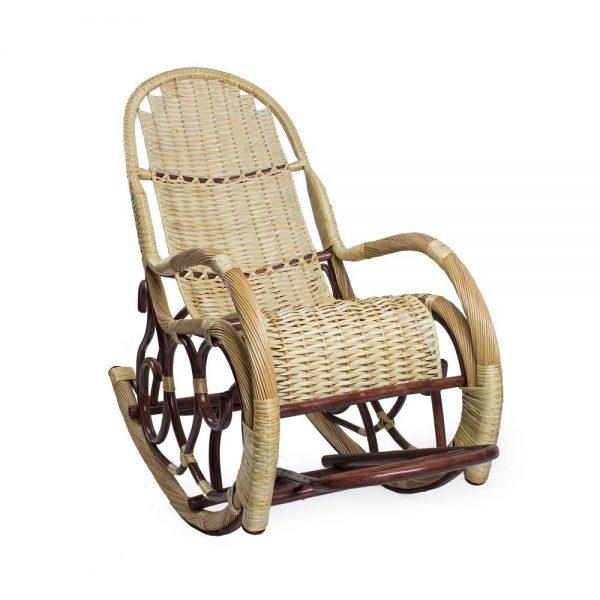 Кресло-качалка Калитва, орех выгодно от VittaMebel.ru
