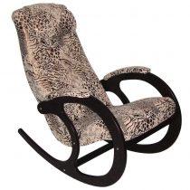 Кресло-качалка Блюз-2, МИ венге, леопард, венге, леопард - VittaMebel.ru