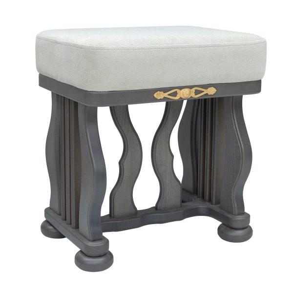 Банкетка МИ Джульетта, Серый ясень, ткань Verona Light Grey выгодно от VittaMebel.ru
