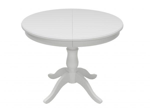 Стол раздвижной Leset Луизиана 1Р МИ, Белый 9003 выгодно от VittaMebel.ru
