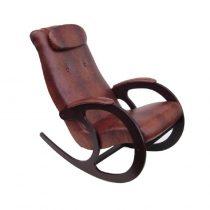 Кресло-качалка Блюз-2, МИ венге, крокодил, венге, крокодил - VittaMebel.ru