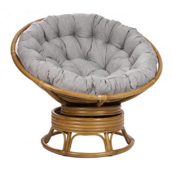 Кресло-качалка PAPASUN SWIVEL ROCKER c подушкой выгодно от VittaMebel.ru