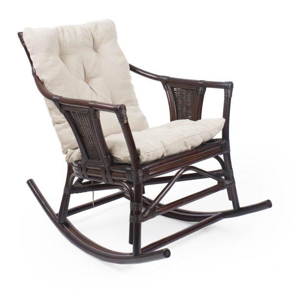 Кресло-качалка CANARY с подушкой выгодно от VittaMebel.ru