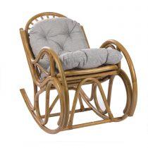 Кресло-качалка BELLA с подушкой - VittaMebel.ru