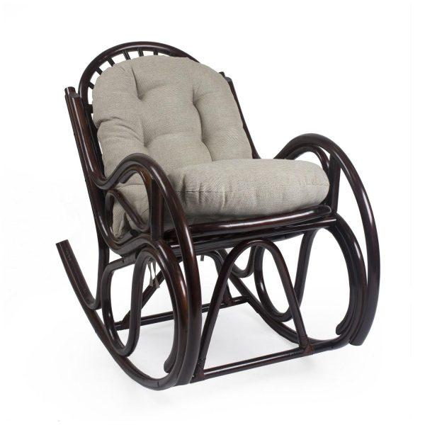 Кресло-качалка BELLA с подушкой выгодно от VittaMebel.ru