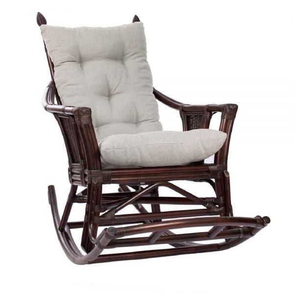 Кресло-качалка CHITA с подушкой выгодно от VittaMebel.ru