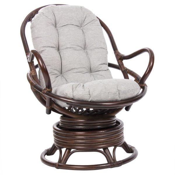 Кресло-качалка SWIVEL ROCKER с подушкой выгодно от VittaMebel.ru