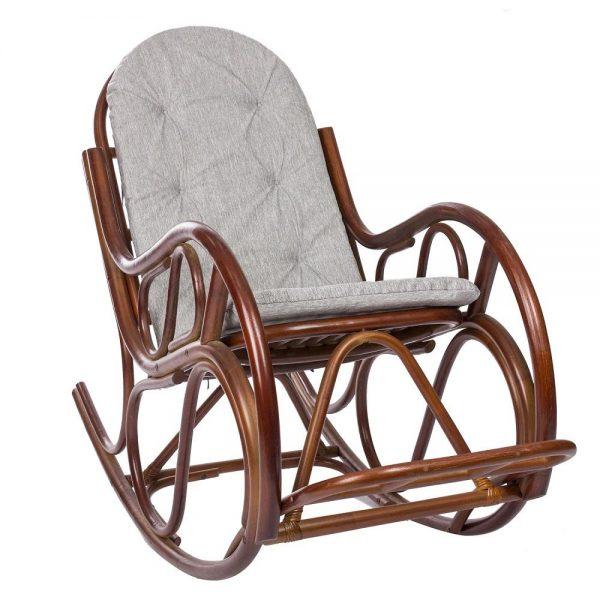 Кресло-качалка CLASSIC с подушкой выгодно от VittaMebel.ru