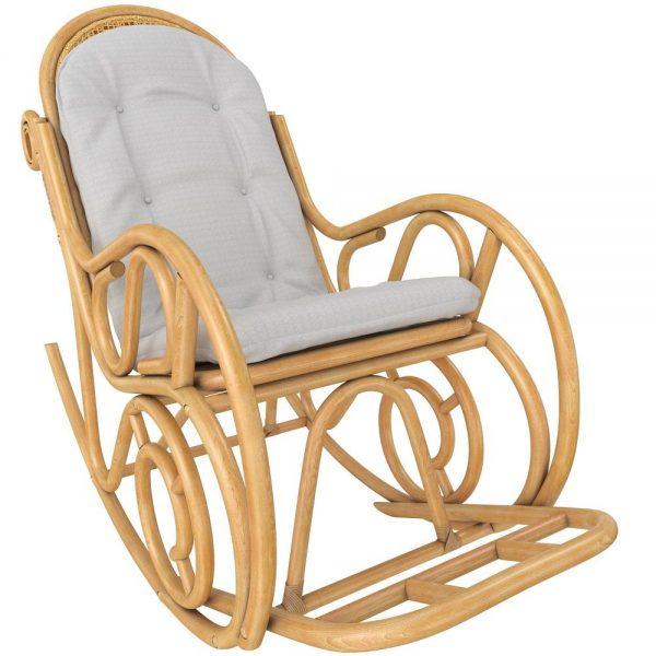 Кресло-качалка MOSCOW с подушкой выгодно от VittaMebel.ru
