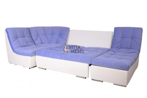 Модульный диван-кровать Лилия-5 выгодно от VittaMebel.ru