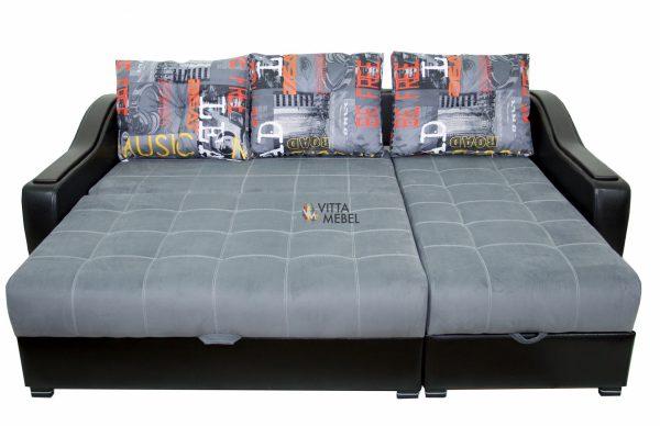 Угловой диван Карат (grey) выгодно от VittaMebel.ru