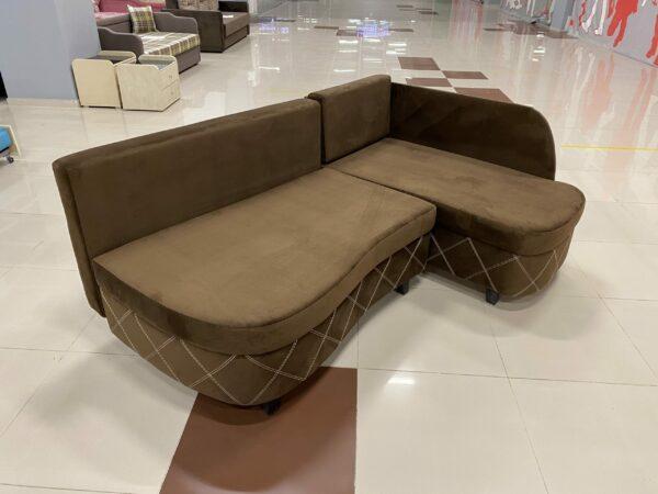 Угловой диван Гамма EVB brown выгодно от VittaMebel.ru
