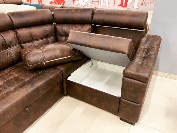 Угловой диван Уют мягкий бок выгодно от VittaMebel.ru