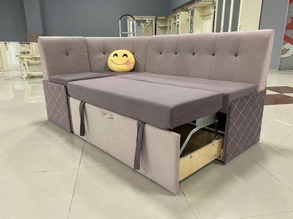 Кухонный угол Сигма-3 pink выгодно от VittaMebel.ru