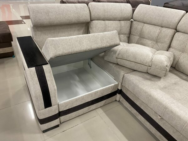 Угловой диван Уют с декором выгодно от VittaMebel.ru